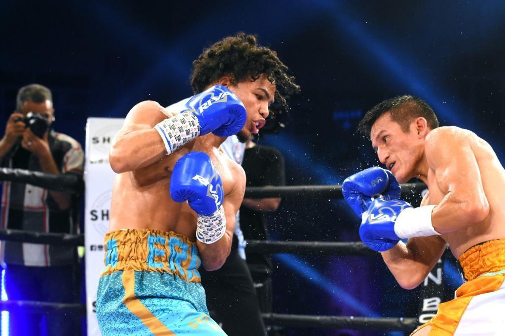 """Minipacman"" conquistó faja interina AMB en su cuarta pelea profesional"