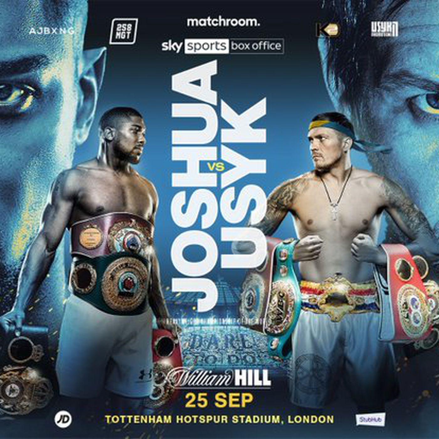 Joshua will expose his WBA Super Championship against Usyk in Tottenham