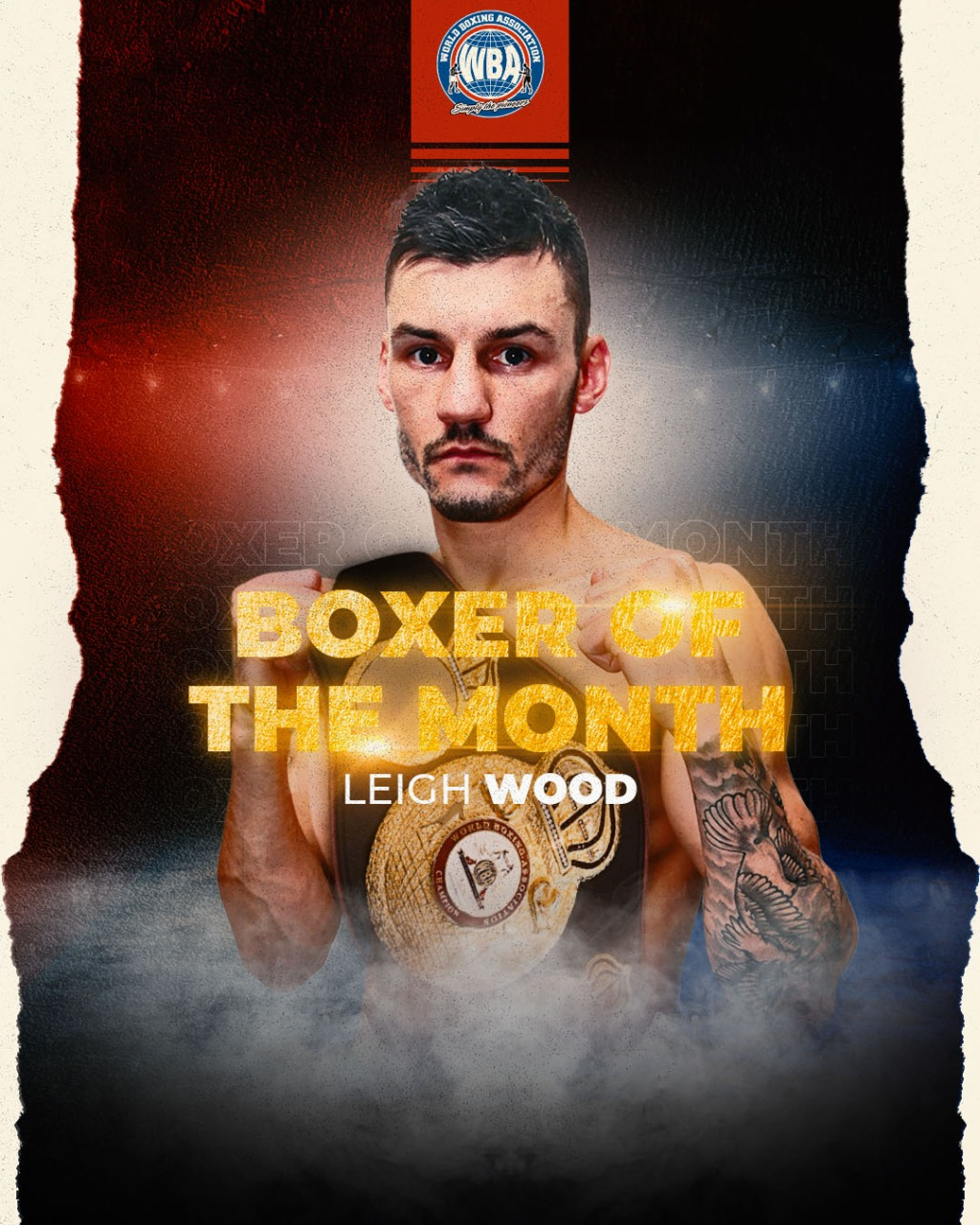 Wood is the WBA Boxer of the Month
