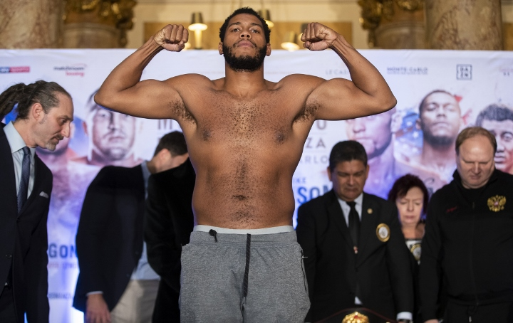 Hunter-Wilson on Tuesday for the WBA-Continental Americas Heavyweight Title