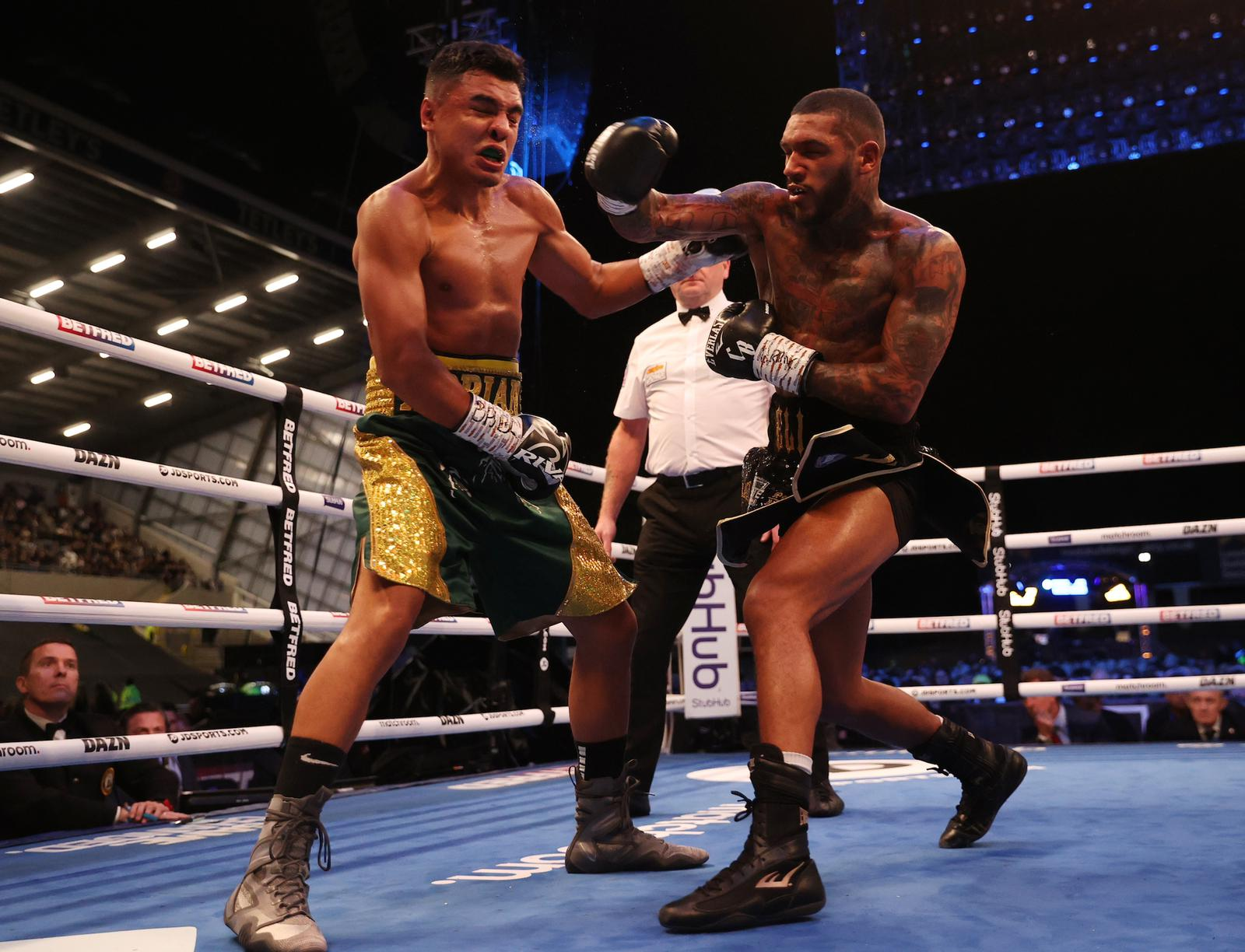 Benn defended his WBA-Continental belt against Granados