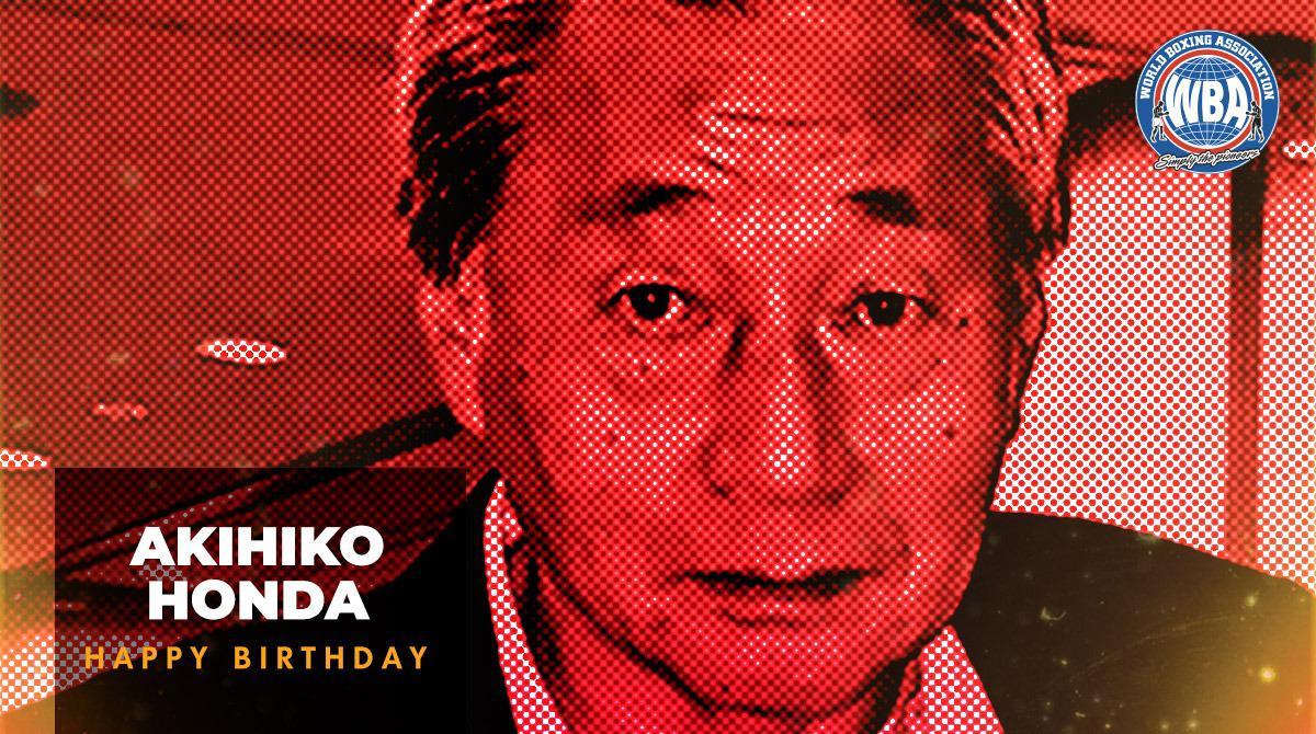 Congratulations to Akihiko Honda