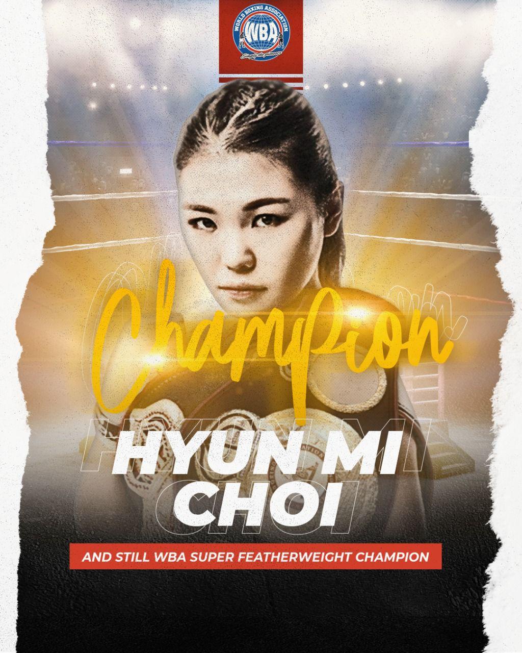 Choi defendió su corona por novena vez en Seúl