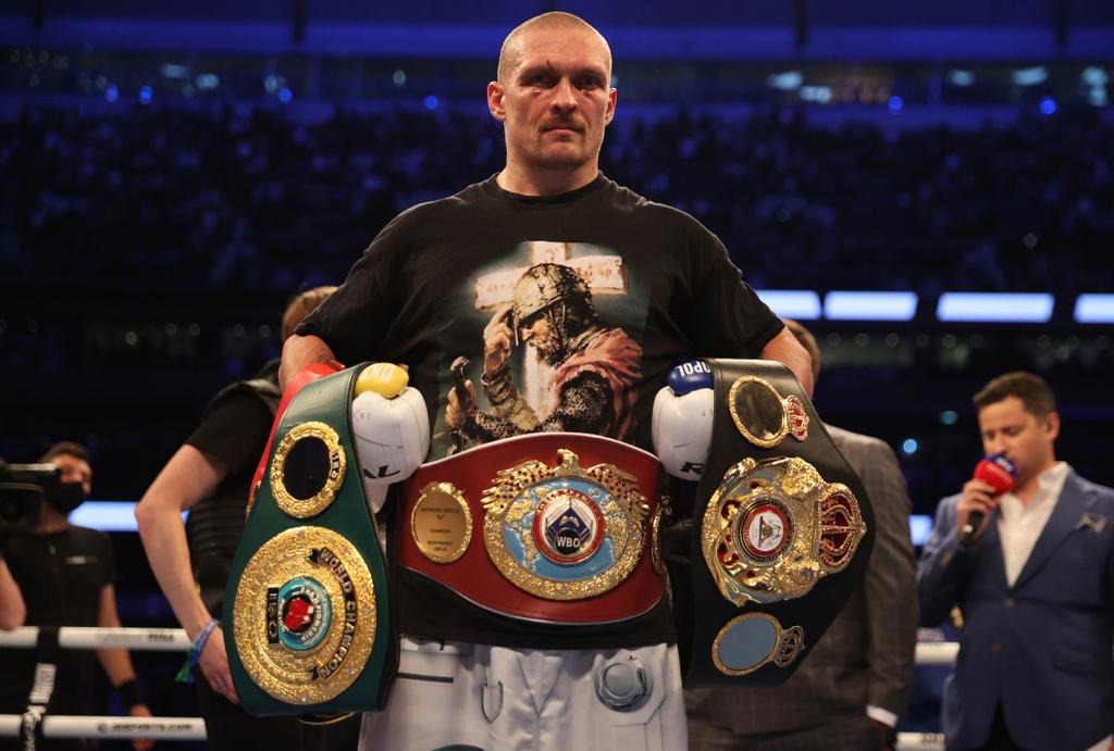 Usyk: the new heavyweight king
