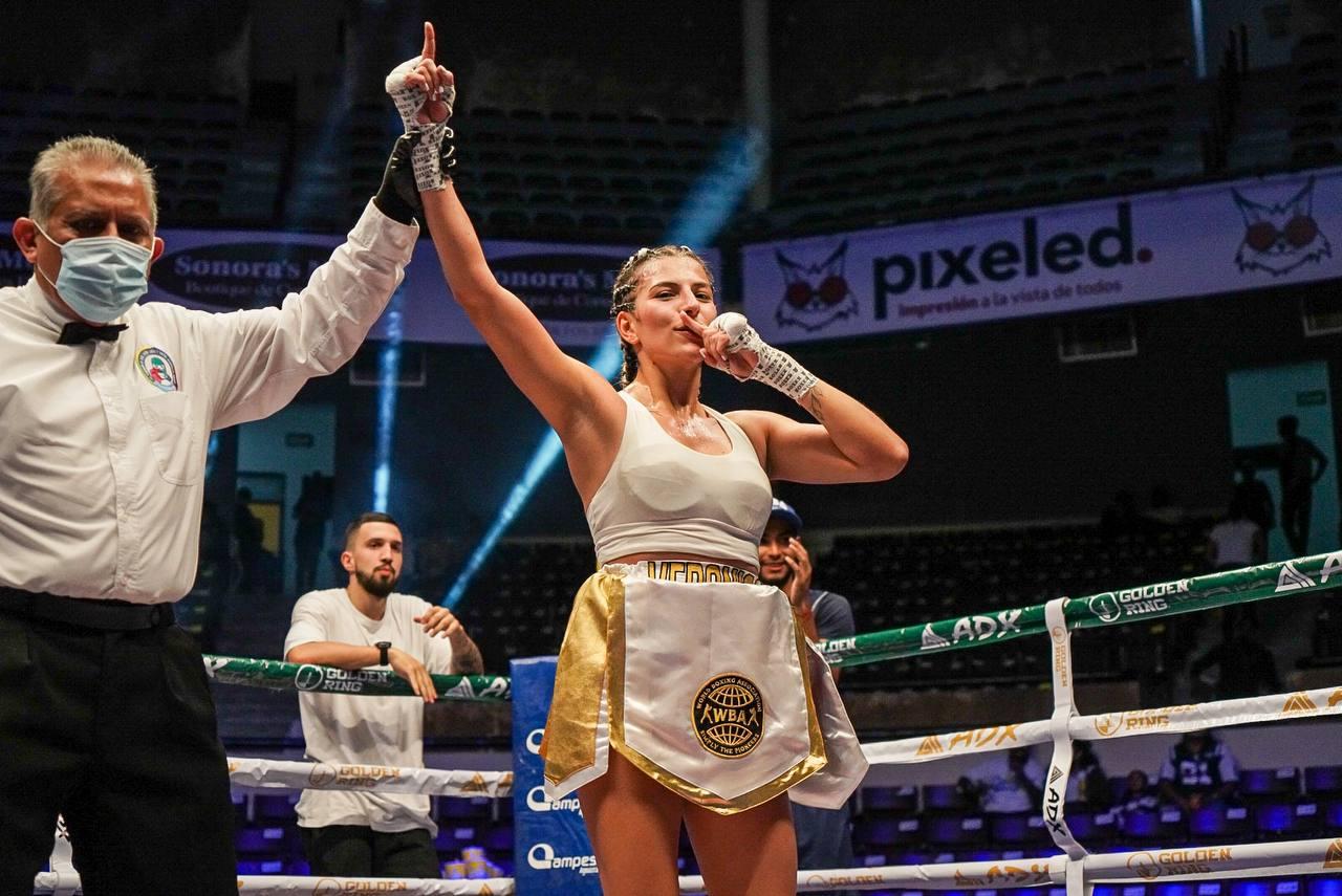 Prospecto colombiana Zuluaga ganó su primera pelea internacional