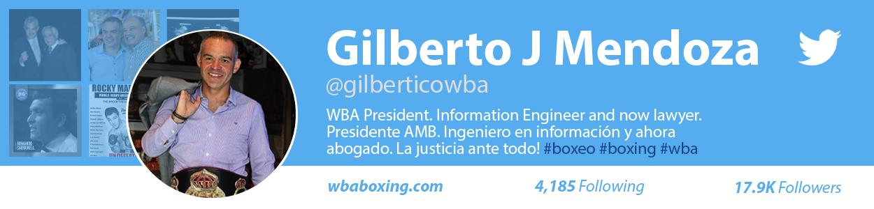 Gilberto Jesus Mendoza Official Twitter - Twitter oficial de Gilberto Jesus Mendoza