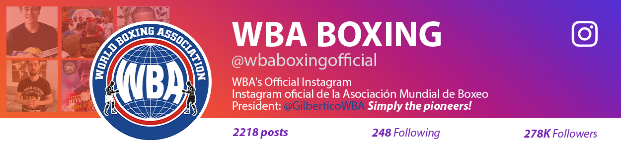 WBA's Official Instagram - Instagram oficial de la Asociación Mundial de Boxeo