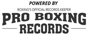 Powered by Pro Boxing Records (Fight Fax)