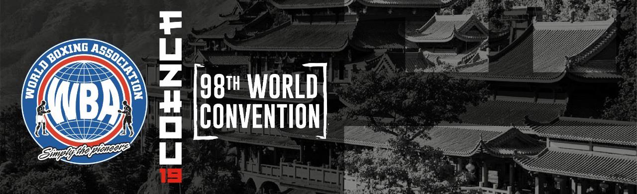 98th WBA World Convention in Fuzhou, China