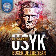 Oleksandr Usyk WBA Boxer of the Year