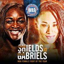 Claressa Shields vs Hanna Gabriels earns women's Fight of the Year